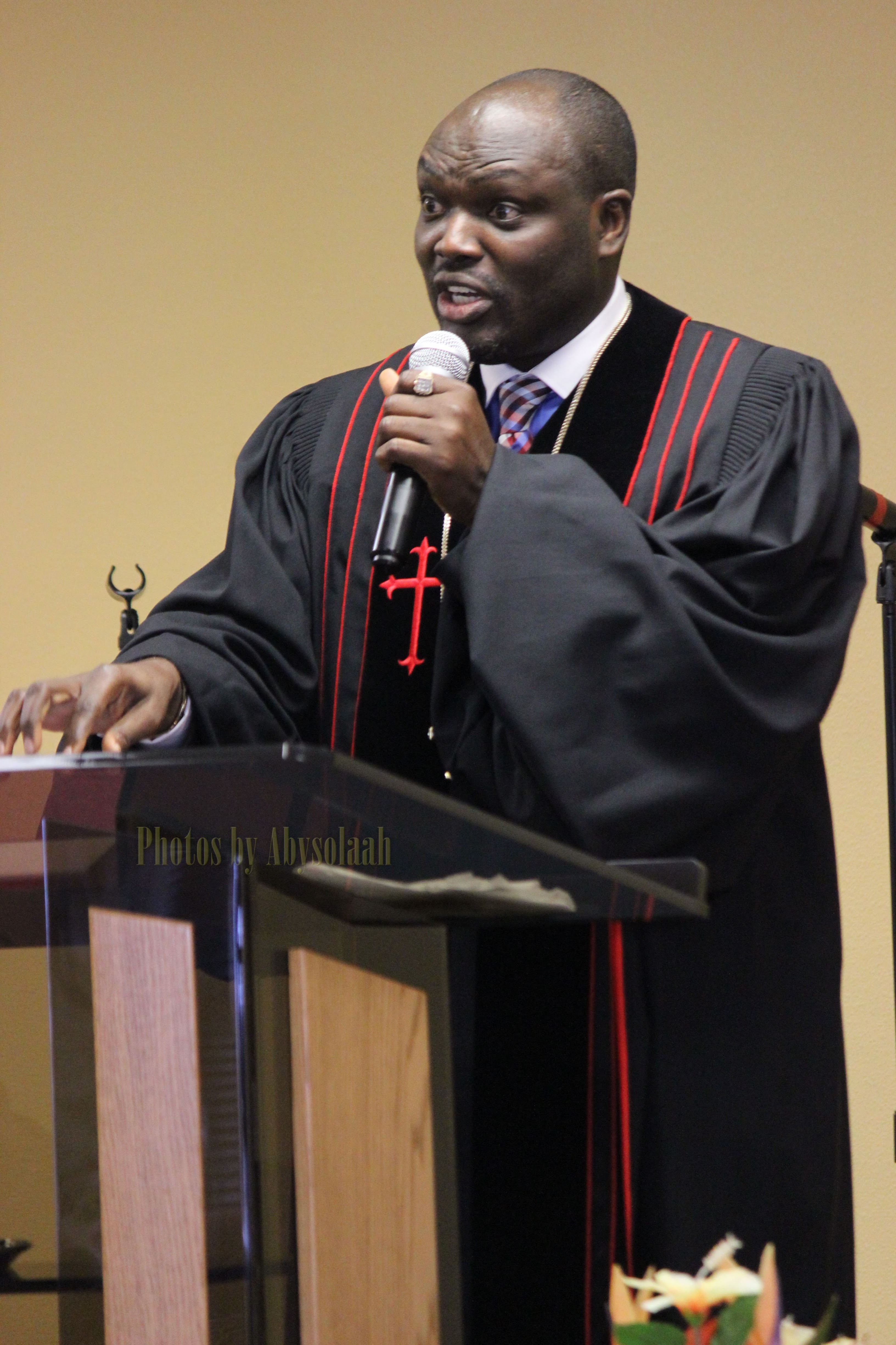 Bishop Henry ADEKOGBE, President/Founder